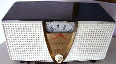 1957 Philco Model E816. Another early twin speaker model