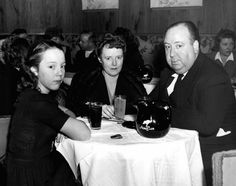 The Hitchcock family has dinner at the Stork Club. February, 1943