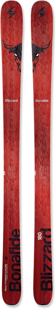 Blizzard Male Bonafide Skis - Men's