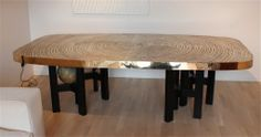 Bronze Dining Table by Ado Chale | From a unique collection of antique and modern dining room tables at http://www.1stdibs.com/furniture/tables/dining-room-tables/