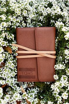 Could bring this TOMS for Target journal along just about anywhere—get it 11/16.