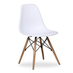 Silla Eames DSW blanca New Style, eames,eames chair Dining Room Chairs, Dining Table, Shabby, Loft, Charles & Ray Eames, My Dream Home, Living Room Decor, Furniture Design, Sweet Home