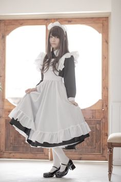 sweetheart of the rodeo Maid Cosplay, Cute Cosplay, Cosplay Girls, Maid Outfit, Maid Dress, Anime Outfits, Fashion Outfits, Hot Japanese Girls, Maid Uniform