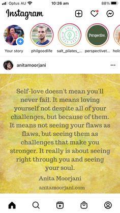 Say You, Love You, Anita Moorjani, Your Story, Self Love, Fails, Sayings, Te Amo, Self Esteem