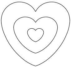 Výsledek obrázku pro moldes de corazon para imprimir