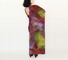 Essence, Sunrise - Silk Scarf, Long, 16x72 (version A)