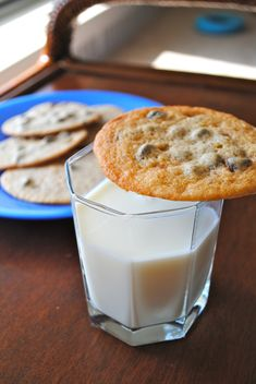 Thin, crispy, chewy chocolate chip cookies.