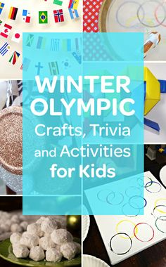 Celebrate the #Olympics with these fun ideas #2014Olympics #SochiOlympics