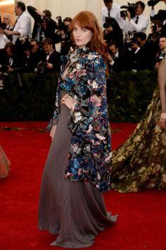 Florence Welch at Met Gala 2014