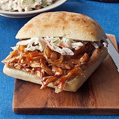BBQ Chicken Sandwiches - Who doesn't love Independence Day? Fireworks, fun, and good food