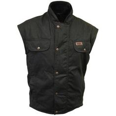 Outback Oilskin Vest High quantities of quality and style. Army Jackets, Chef Jackets, Western Cowboy Hats, Flak Jacket, Army Surplus, Tactical Vest, Woodland Camo, Camo Patterns, Hand Warmers