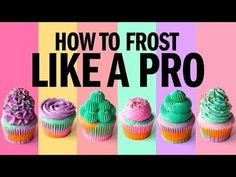 How to FROST cupcakes LIKE A PRO! - The Scran Line - YouTube