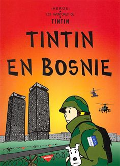 Tintin en Bosnie