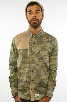 52ee917f 11 After 11 The Army LS Shirt in Camo Camo Print, Streetwear Fashion, Don