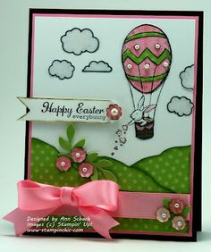 Stampin' Up! Easter  by Ann Schach at The Stampin' Schach