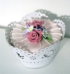 rose cupcake by Icing Bliss, via Flickr