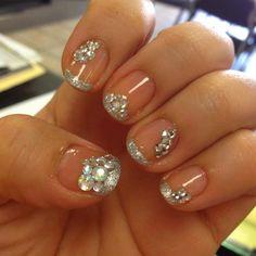 Glitzy nails