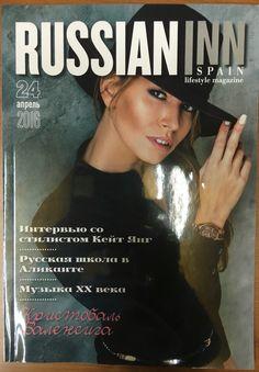 Publicación en la revista magazine russian inn