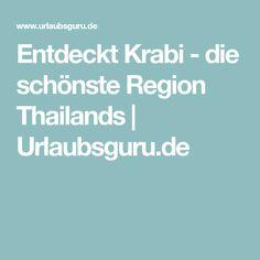 Entdeckt Krabi - die schönste Region Thailands | Urlaubsguru.de