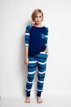 ALAS the Label - Mountain Stripe Pants