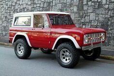 Sweet original Ford Bronco