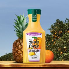 Simply Beverages™ - Orange Juice with Pineapple | Simply Beverages™
