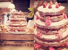 Homemade Cakes / Wedding Style Inspiration / LANE #theLANEweddings #DelphineManivet