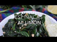 Espinacas salteadas o guisadas al limón (en 5 minutos)