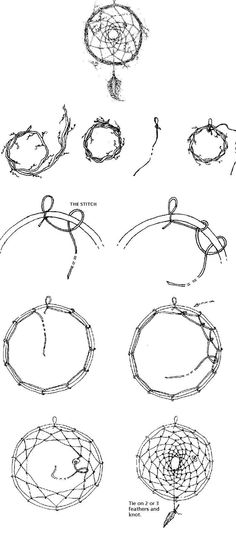 how to make a dream catcher :)