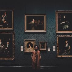 "tyfrench: "" it me in London in a museum PLZ CARE (at National Gallery) """