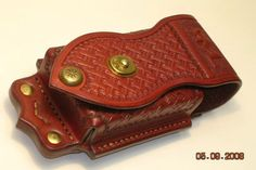 Cell phone case Custom Leather Belts, Tablet Cases, Knife Sheath, Belt Pouch, Cigarette Case, Leather Pattern, Leather Projects, Leather Working, Leather Craft