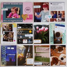 Life Zesters March Challenge - Project Life 2015 - Week 10