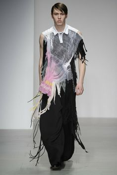 Central Saint Martins Jessica Mort RTW Fall 2014