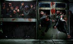 La Horde Zombie Wallpaper, Zombie Art, Horror Pictures, Post Apocalyptic, Timeline Photos, Zombie Apocalypse, Horror Movies, I Movie, Good Movies