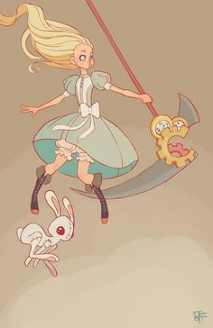 Disney Ladies With Weapons - Alice