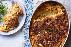 This really is an indulgence, but it's ideal for when you need a bit of comfort – and the pumpkin and chestnut topping takes it to another level. The beauty of this dish is that you can use whatever cheese you like; instead of fontina, you could either double up on the Cheddar or swap in Gruyère, smoked cheese, or even Stilton. Serve with a fresh, leafy autumnal salad to balance things out, says Jamie.