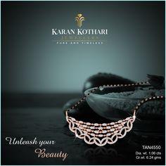 Diamond Mangalsutra, Gold Mangalsutra Designs, Diamond Jewellery, Pendant Design, Pendant Set, Diamond Pendant, Rose Gold Diamond Ring, Full Set, Necklace Designs