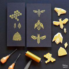 abeille/ruche/alveole: