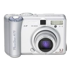 Canon powershot A75 used digital camera for sale on ebay.