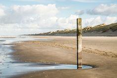Nieuw in mijn Werk aan de Muur shop: Strand bij Wijk aan Zee