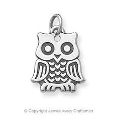 Owl charm- James Avery