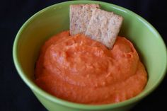 Curried Sweet Potato & Red Pepper Dip