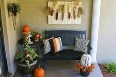 The Butlers: Fall Porch