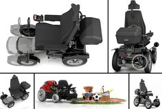 Permobil X850 Corpus All-Terrain Power Wheelchair has a powerful engine and is designed for cross-country use in all weather, including making it through floods. X850 performed great on all terrain and can take you off the beaten track. It also has ESP (Electronic Steering System) car technology. #NMEDA