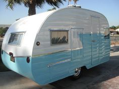 1957 13ft shasta restored - who wouldn't love this. $10500.