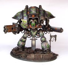 The Internet's largest gallery of painted miniatures, with a large repository of how-to articles on miniature painting Figurine Warhammer, Warhammer 40k Miniatures, Warhammer Models, Warhammer 40000, Chaos Legion, Imperial Knight, Painting Templates, Fantasy Battle, Game Workshop