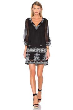 Best black embroidered dresses