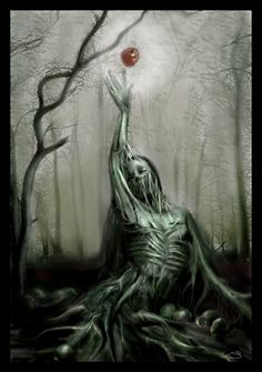 ✯ Original Sin by ~MistaBobby ✯ Dark Art Photography, Dark And Twisted, Colossal Art, Goth Art, Dark Fantasy Art, Christian Art, Horror Art, Occult, Japanese Art