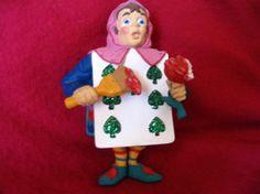Alice in Wonderland Seven of Spades dept 56 ornament