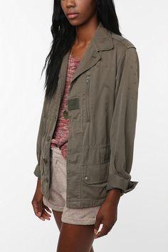 a good cargo/camo jacket